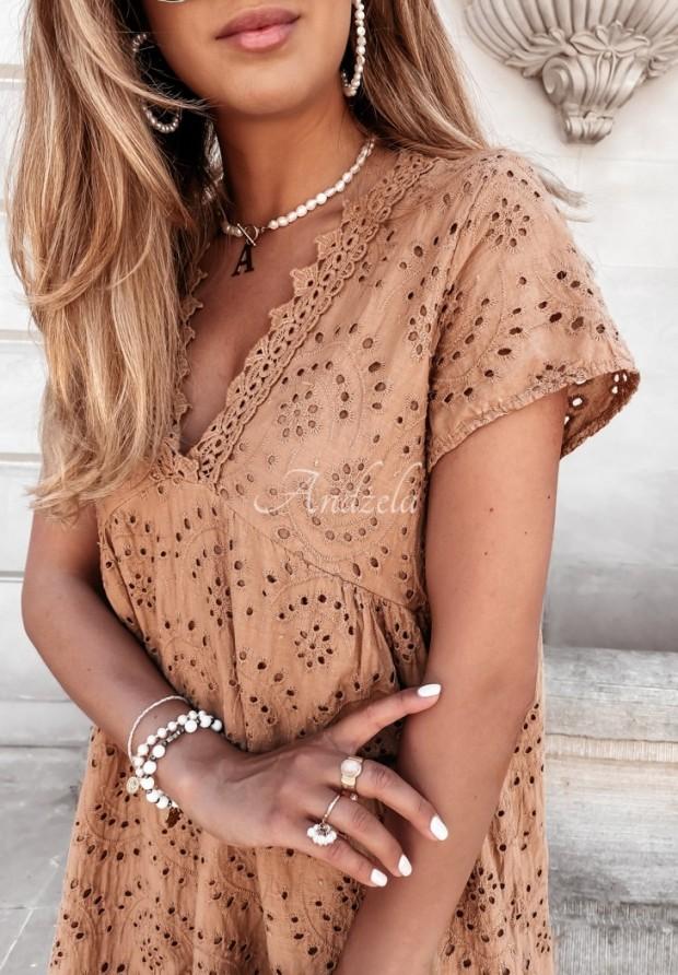 Sukienka Boho Bethy Camel