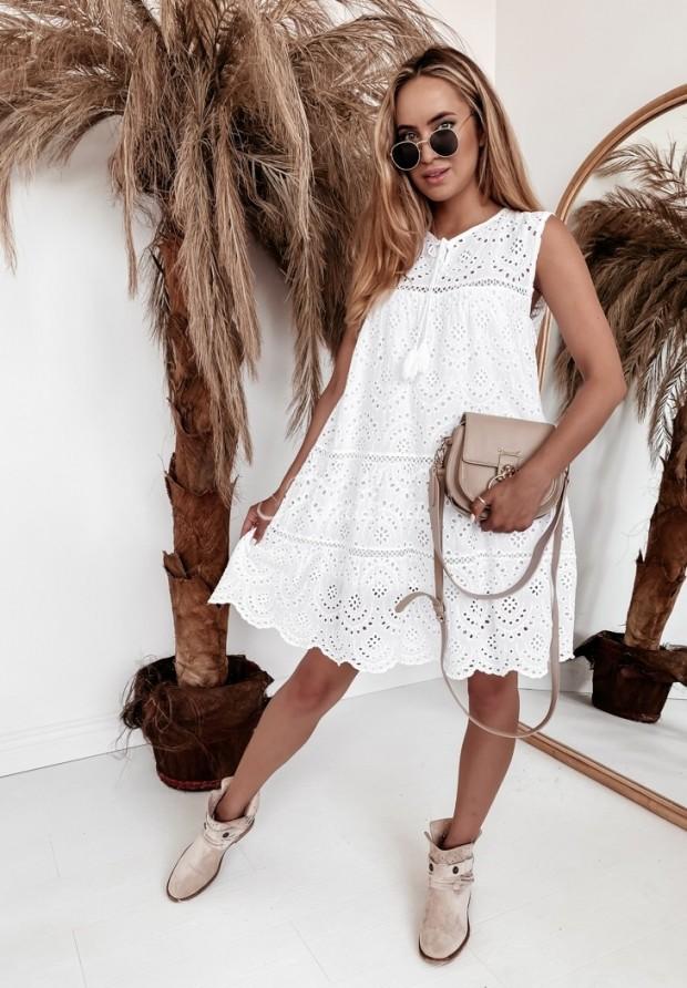 Sukienka Boho Naida White