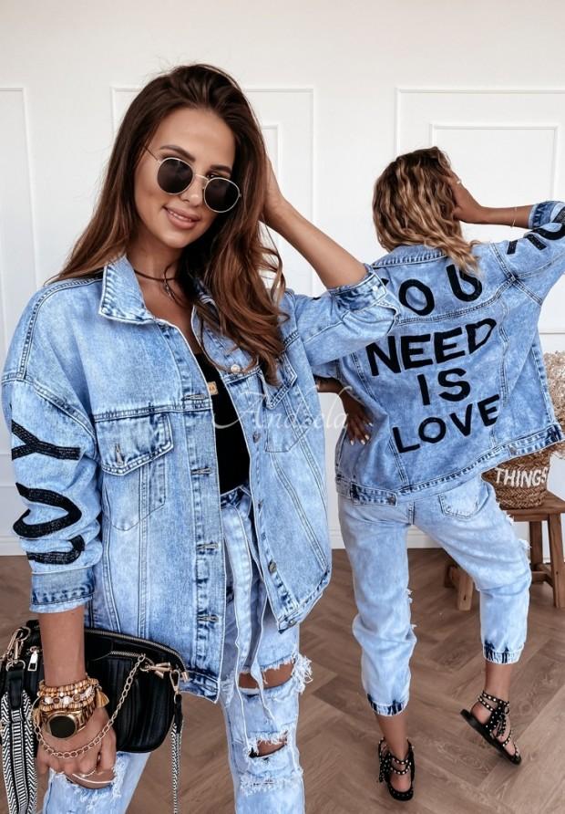 Kurtka Katana Jeans Love