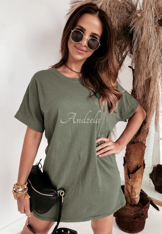 T-shirt Oversize Malvia Khaki
