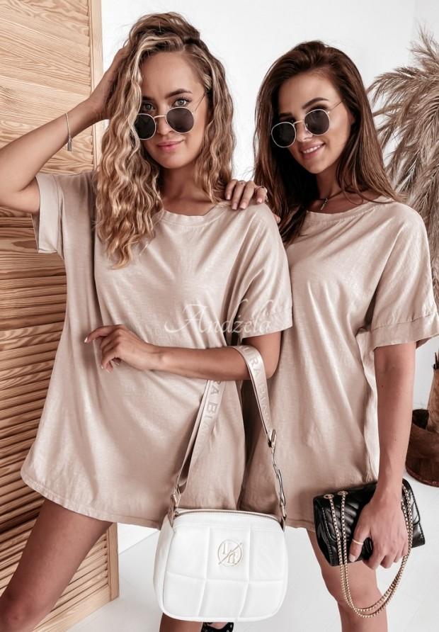 T-shirt Oversize Simple Beige