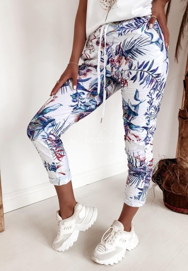 Spodnie Odelia Orchid White&Blue