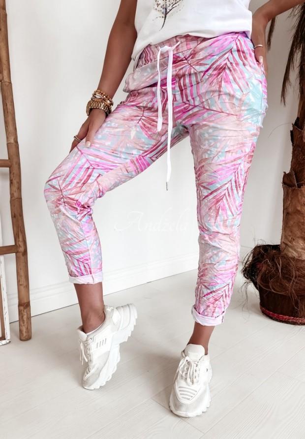 Spodnie Odelia Palmes Pink&Mint
