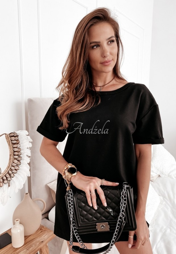 Sukienka Tunika Chain Black