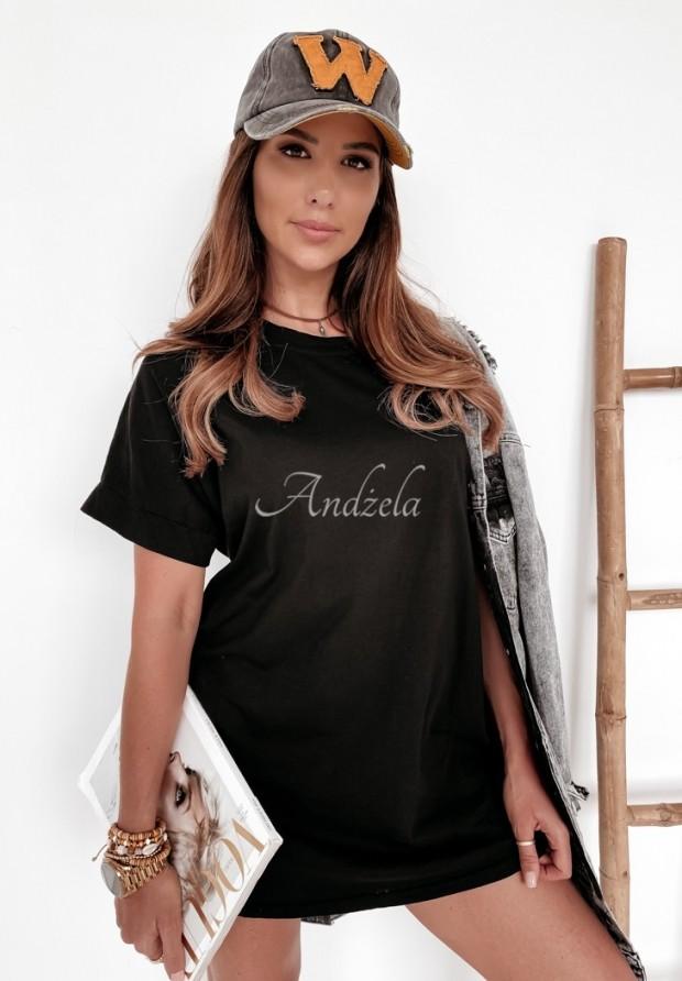 T-shirt Oversize Simple Black