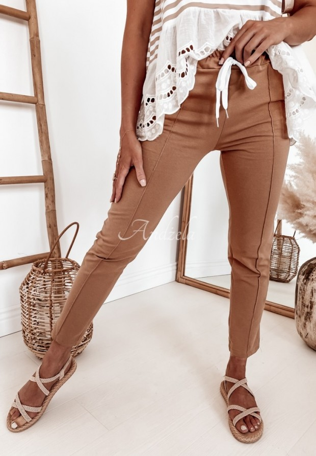 Spodnie Dresowe Bellano Camel
