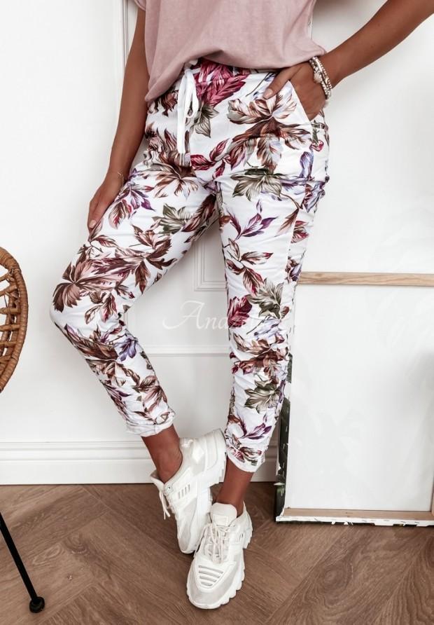 Spodnie Odelia Autumn White