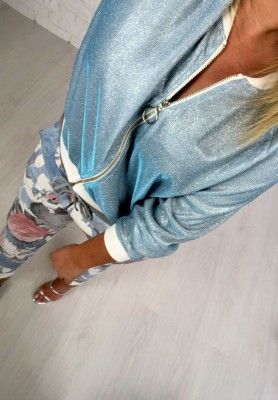 5137 Bluza Glam Blue