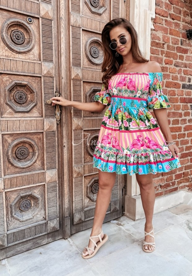 Sukienka Flamingo Color