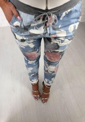 Spodnie Flower Print