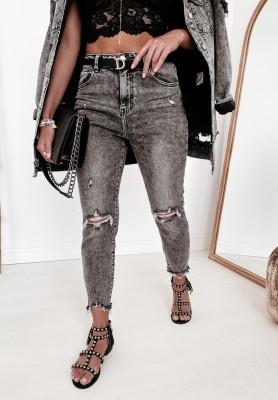 Spodnie Jeans Aldin Dark Grey