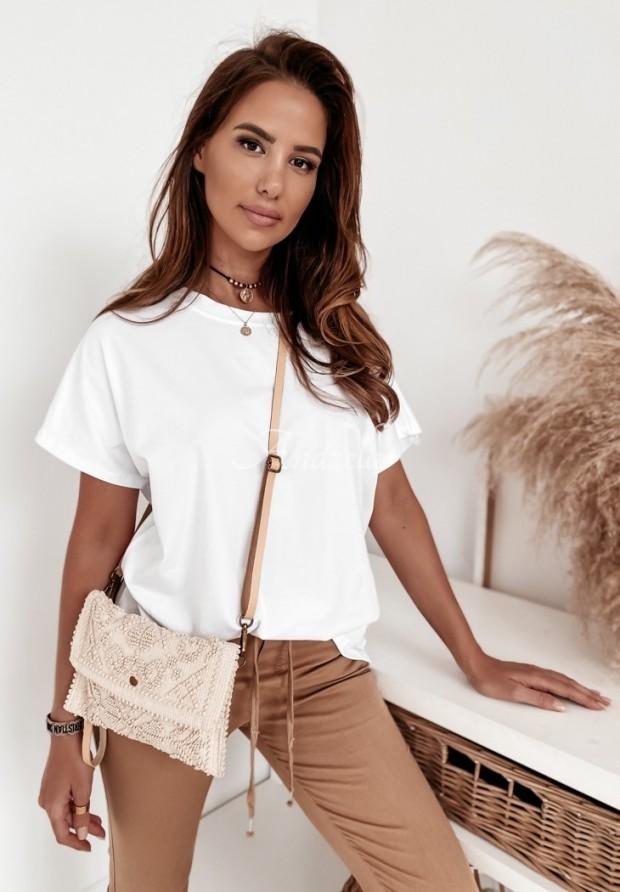 T-shirt Oversize Lyon White