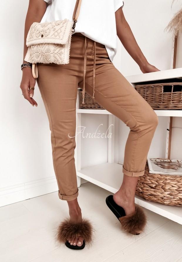 Spodnie Wind Camel