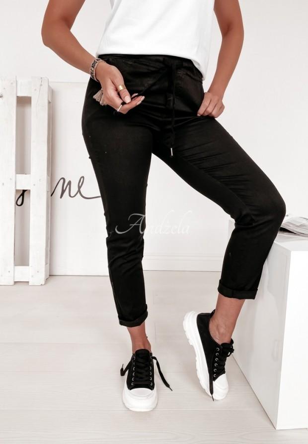 Spodnie Wind Black
