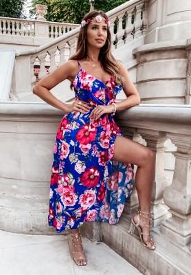 Sukienka Gerbery Cobalt