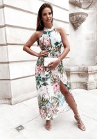 Sukienka Montrella Green&Pink