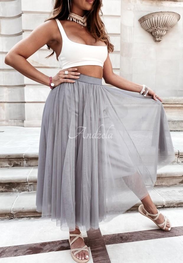Spódnica Tiul Ginny Grey