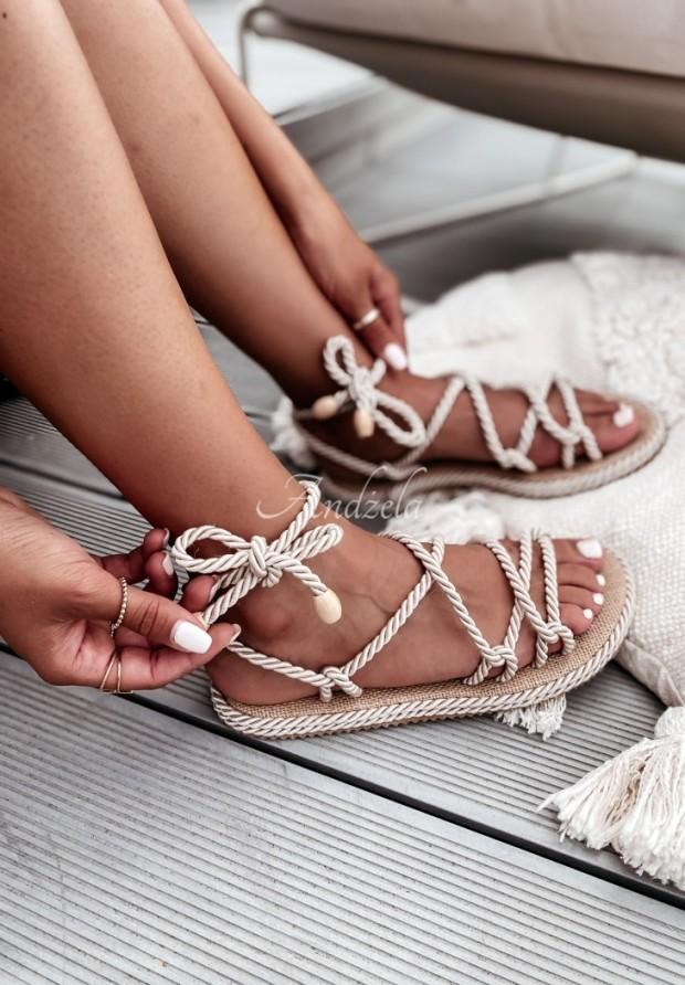 Sandałki Nivella Natural