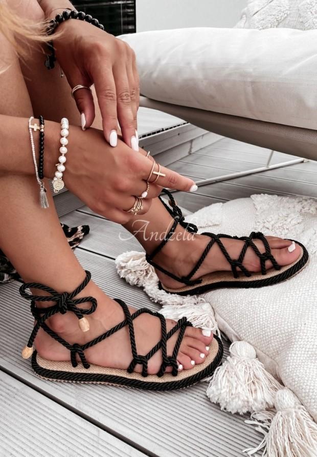 Sandałki Nivella Black