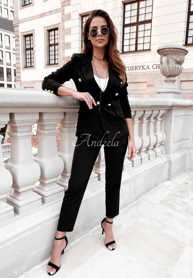 Spodnie Cygaretki Brassa Black