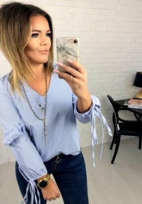 Bluzka Paski Woman Blue