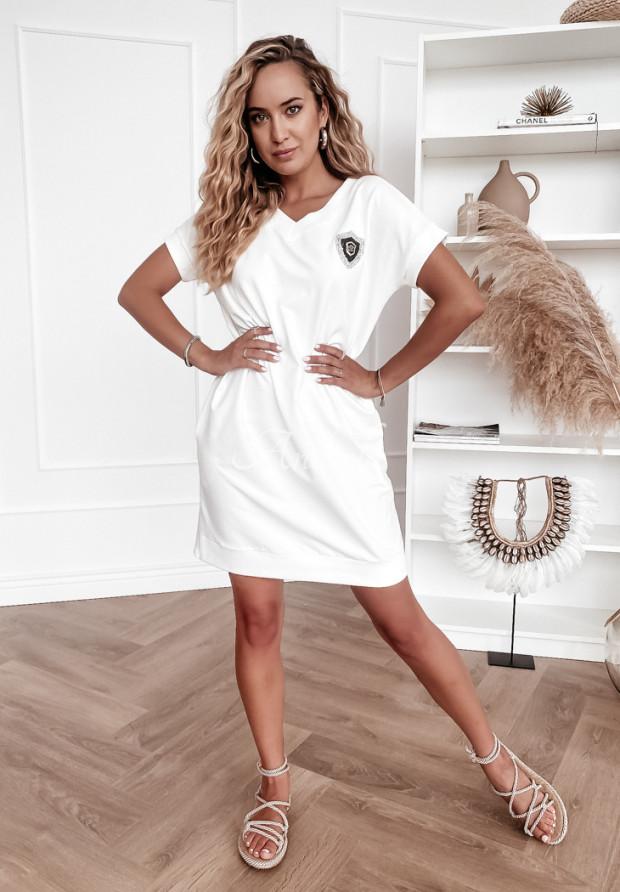 Sukienka Crest White