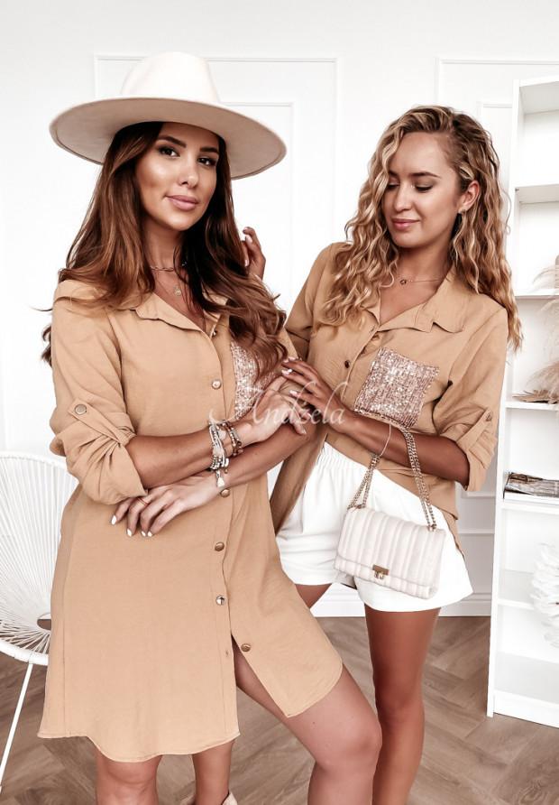 Koszula Tunika Lorete Camel