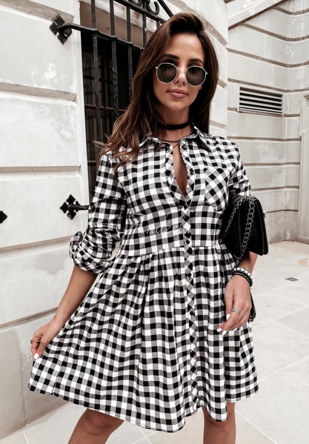 Sukienka Krata Gabby Black&White
