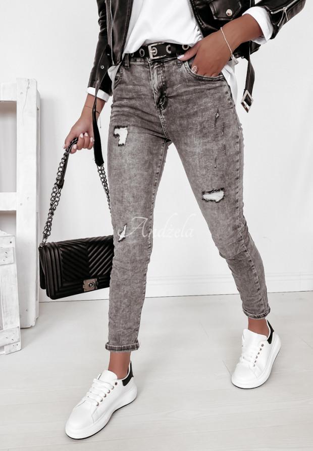 Spodnie Jeans Larena Grey