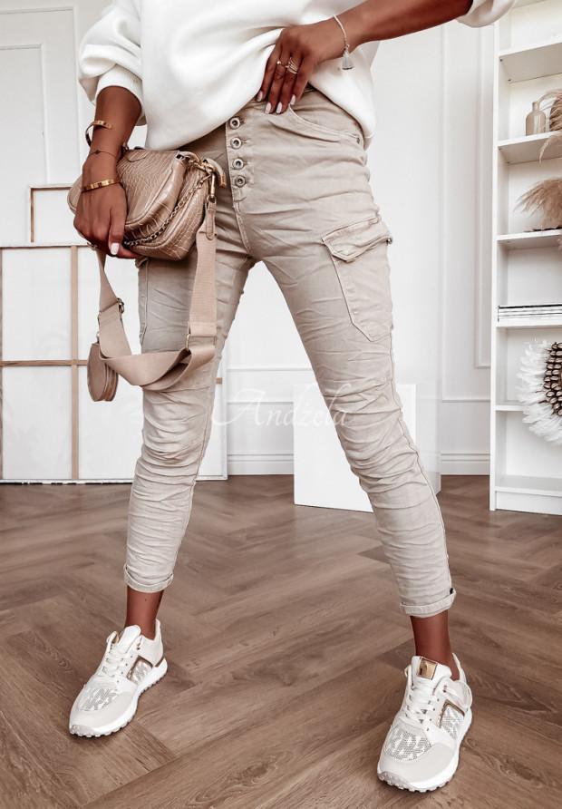 Spodnie Jeans Payne Beige