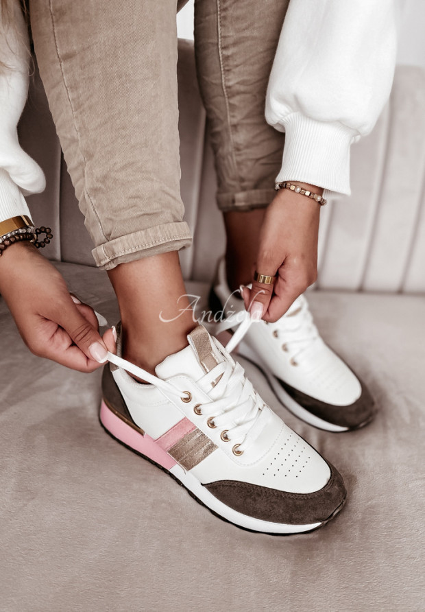 Adidasy Briller White&Powder