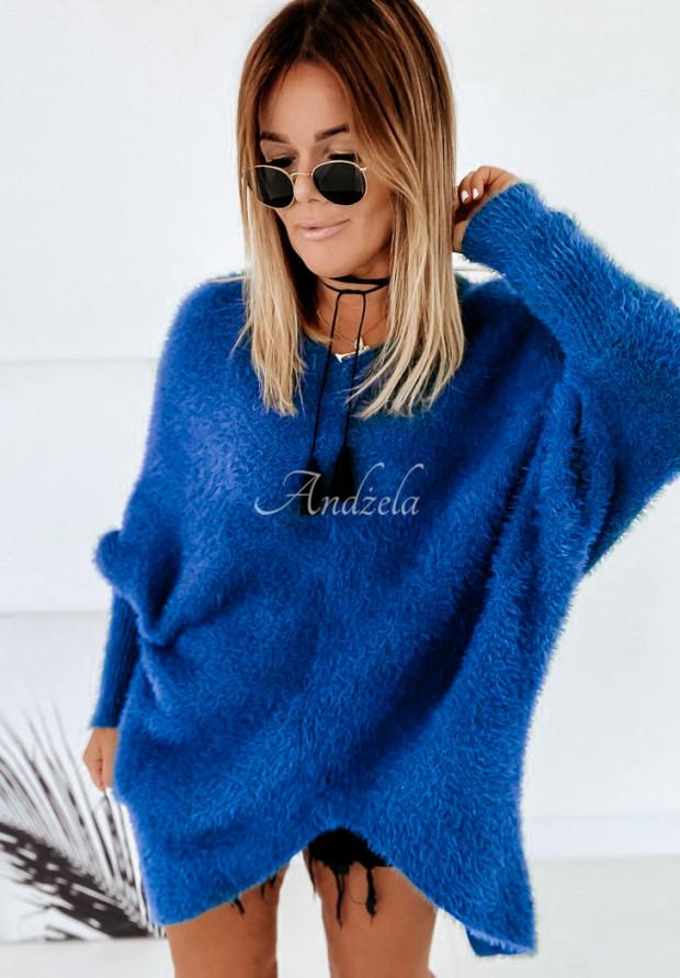 Sweter Alpaka Erica Blue