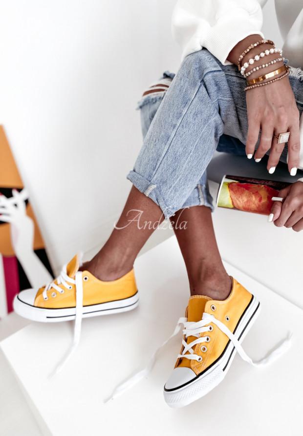 Trampki Conves Yellow