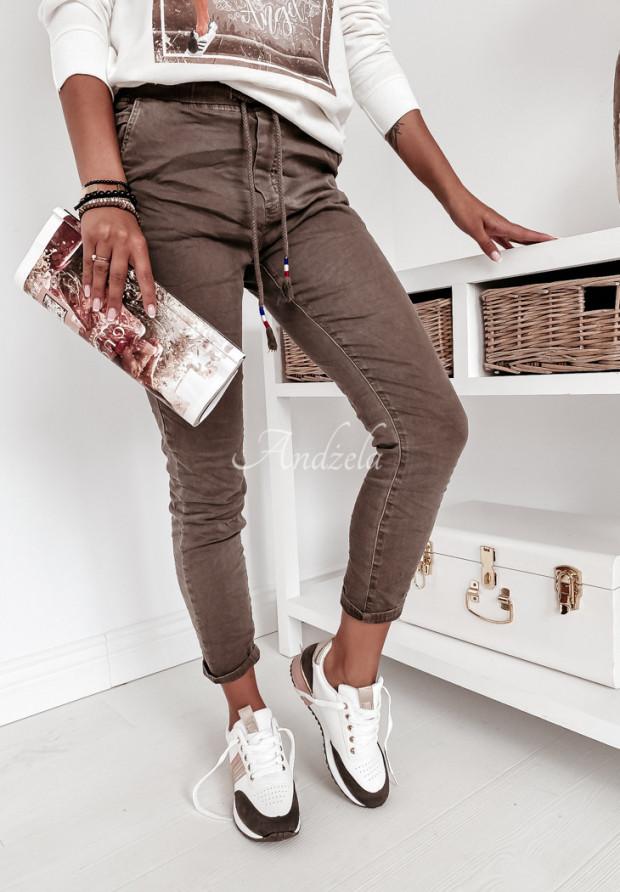 Spodnie Mario Jeans Chocolate