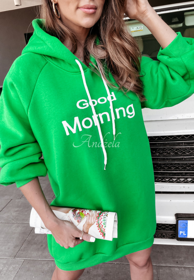 Bluza Good Morning Green