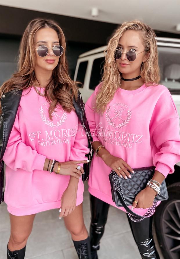 Bluza Oversize Moritz Pink