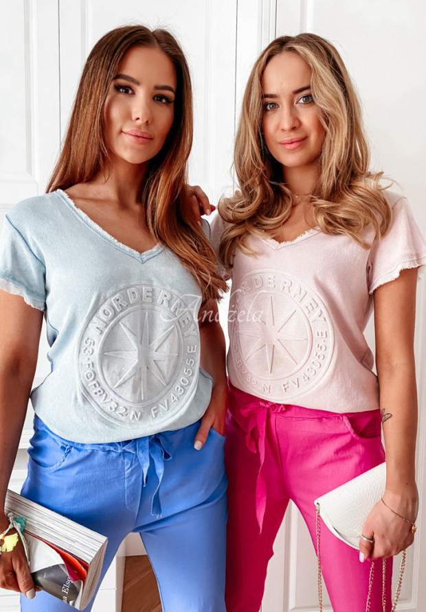 T-shirt Norde Blue