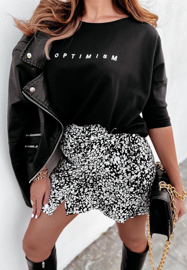 Bluzka Oversize Optimism Black