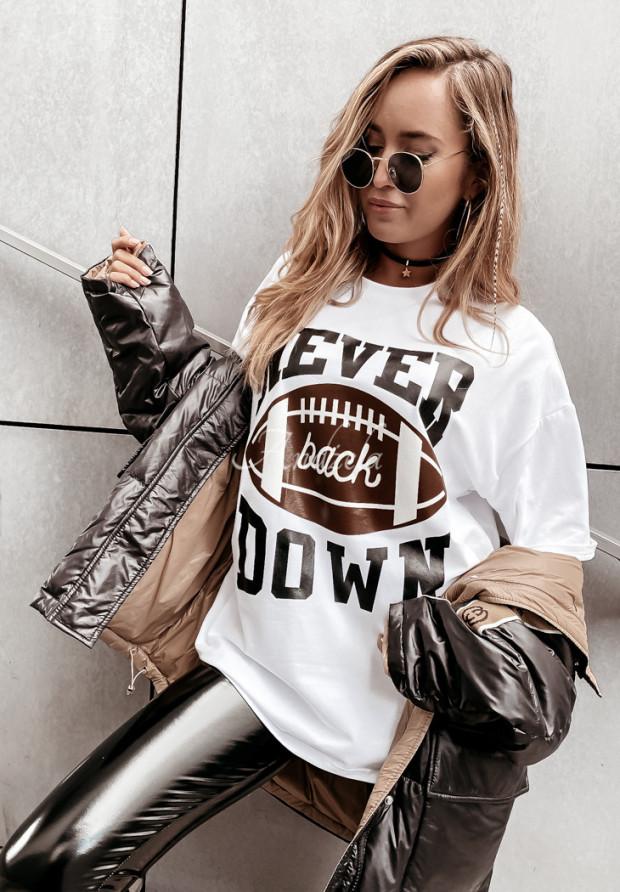 T-shirt Oversize Never White