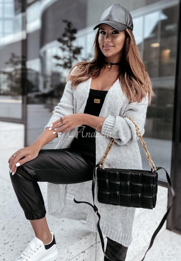 Sweter Kardigan Paciffer Grey