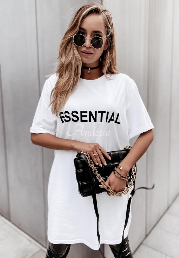 Sukienka Tunika Essential White