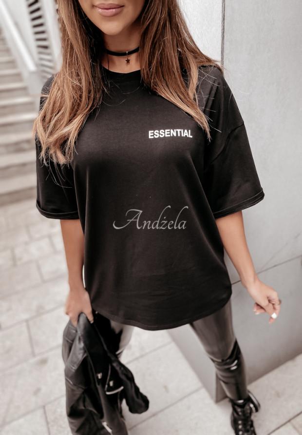 T-shirt Oversize Essential Black