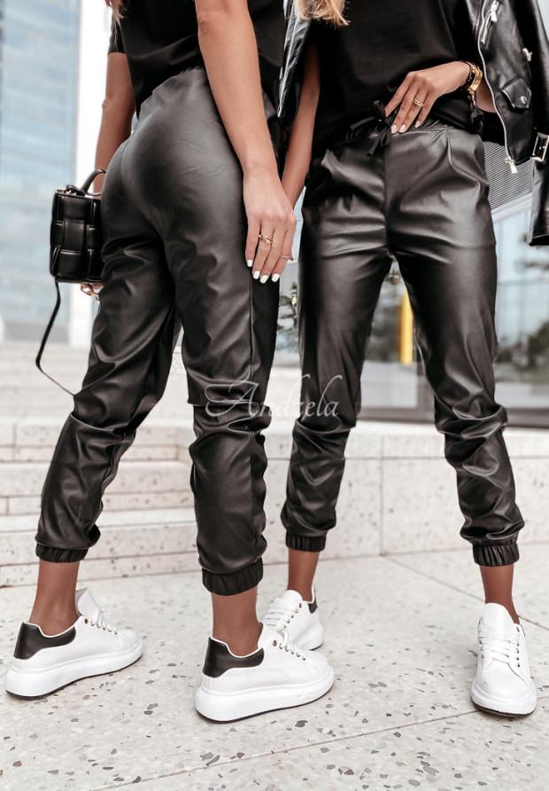 Spodnie Woskowane Venice Black