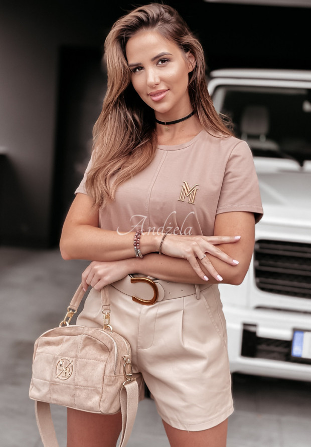 T-shirt La Manuel Mirage Camel
