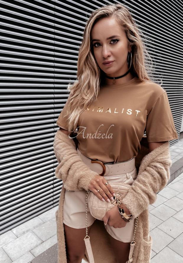 T-shirt Minimalist Camel