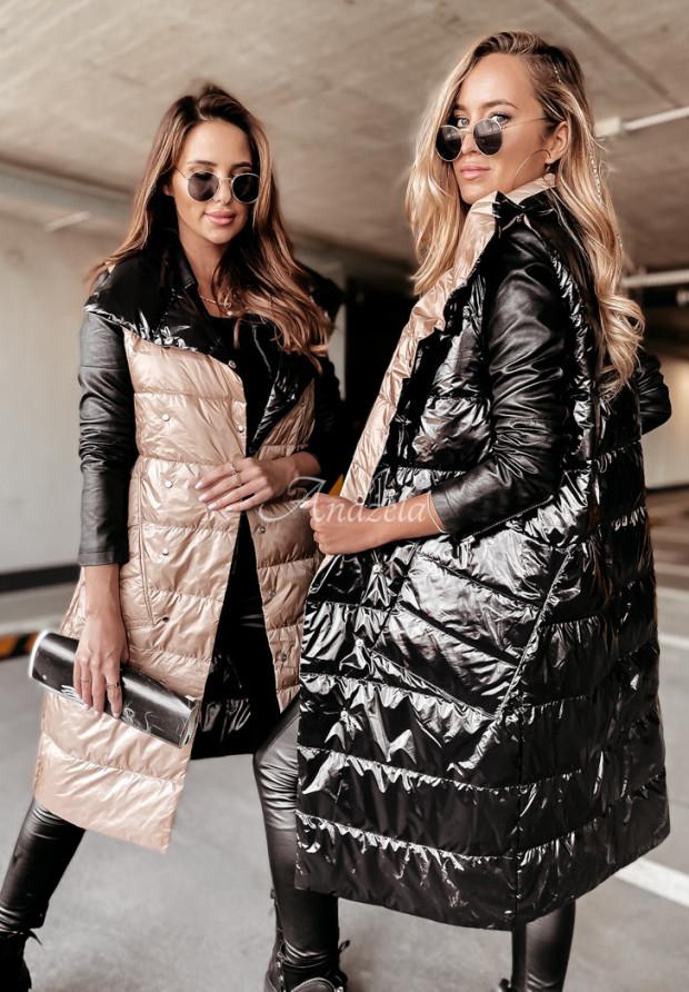 Kamizelka Dwustronna Blanca Black&Camel
