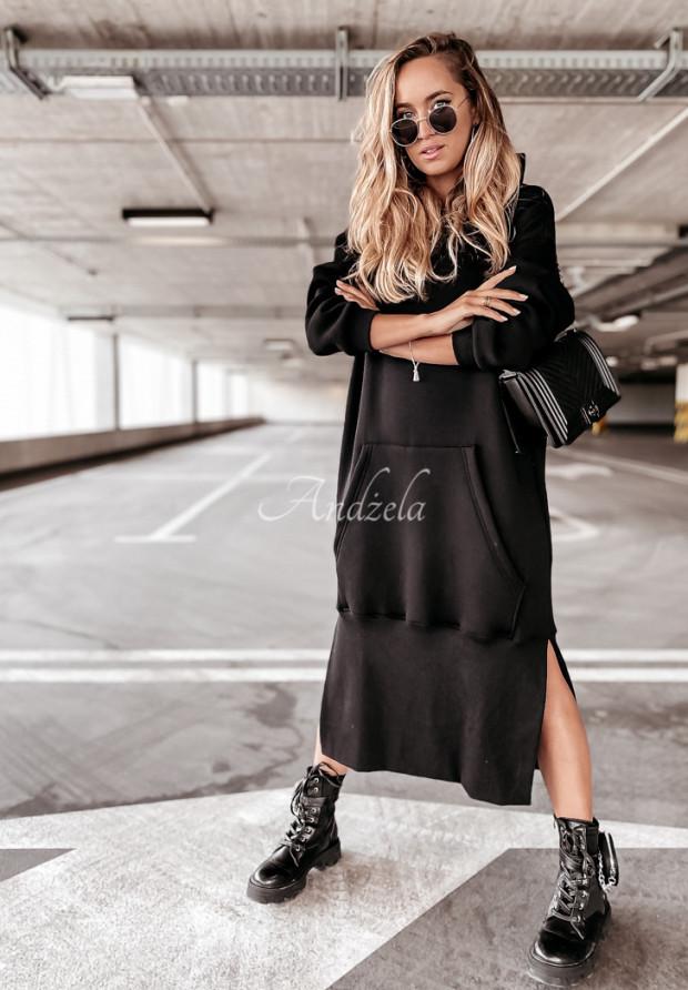 Bluza Sukienka Andelia Black