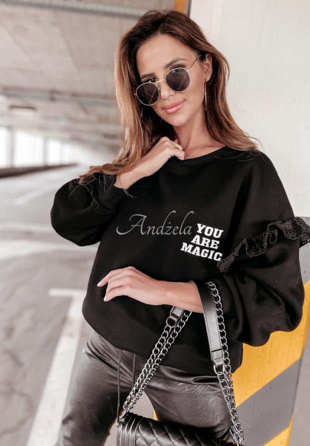 Bluza Oversize Magic Black