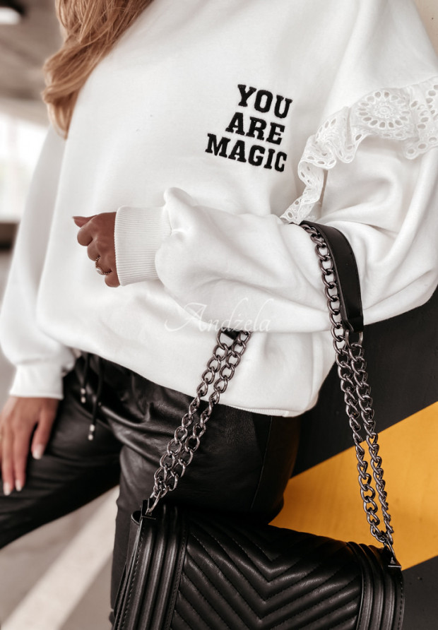Bluza Oversize Magic Ecru