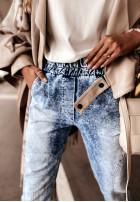 Spodnie Jeans Norena Blue